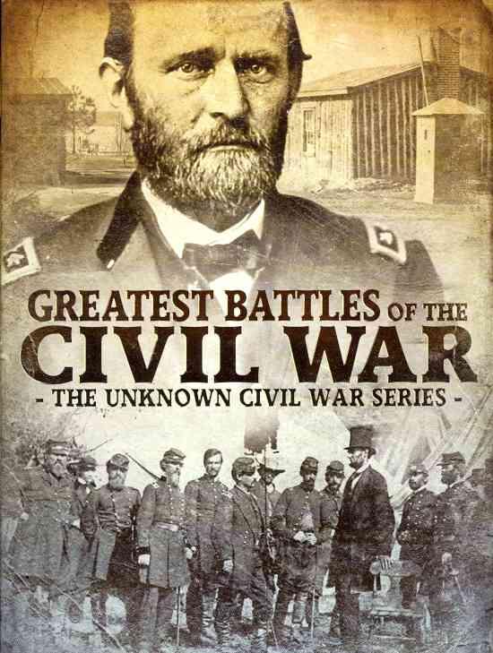 GREATEST BATTLES OF THE CIVIL WAR (DVD)