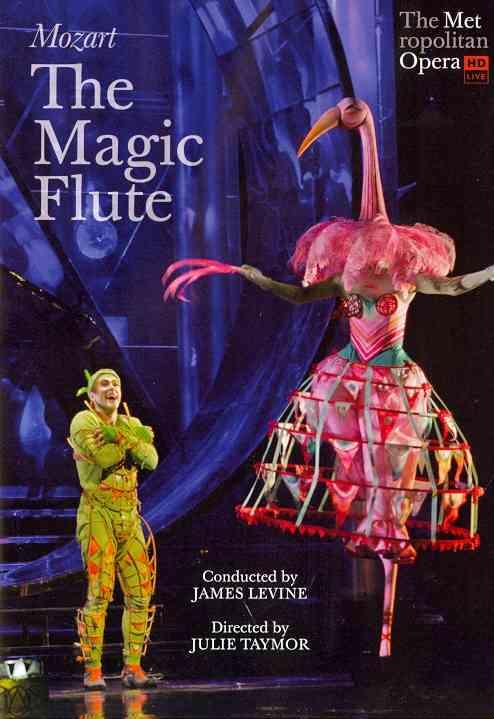 MOZART:MAGIC FLUTE (METROPOLITAN OPER BY MOZART,WOLFGANG AMA (DVD)